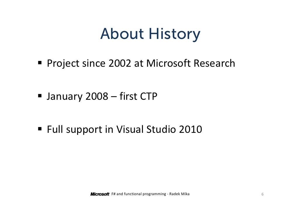 d79860242c ... 6. About History Project since 2002 at Microsoft Research ...