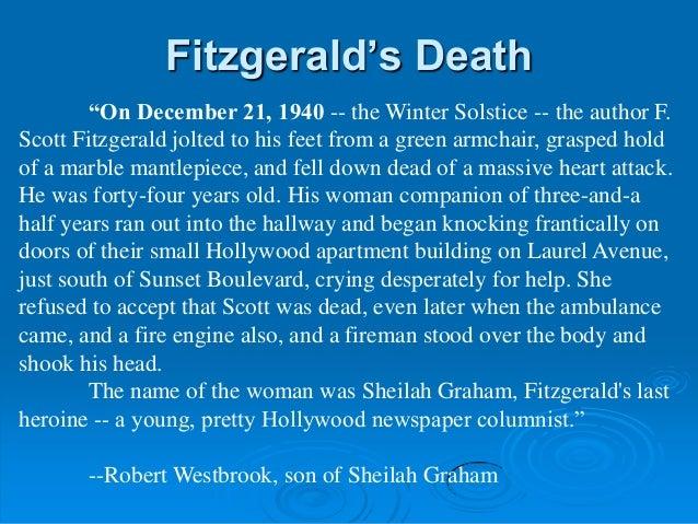 F Scott Fitzgerald Background Information