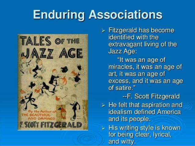 f scott fitzgerald writing style
