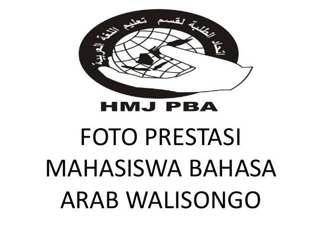 FOTO PRESTASI MAHASISWA BAHASA ARAB WALISONGO