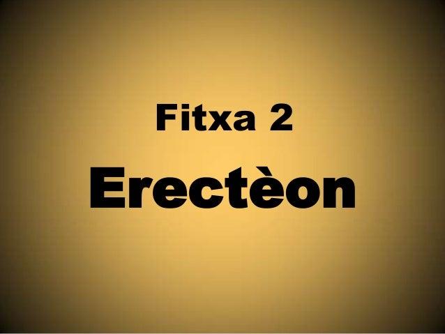 Fitxa 2  Erectèon