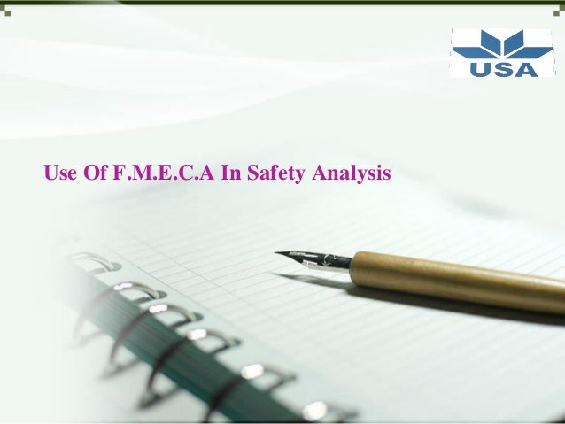 Use Of F.M.E.C.A In Safety Analysis