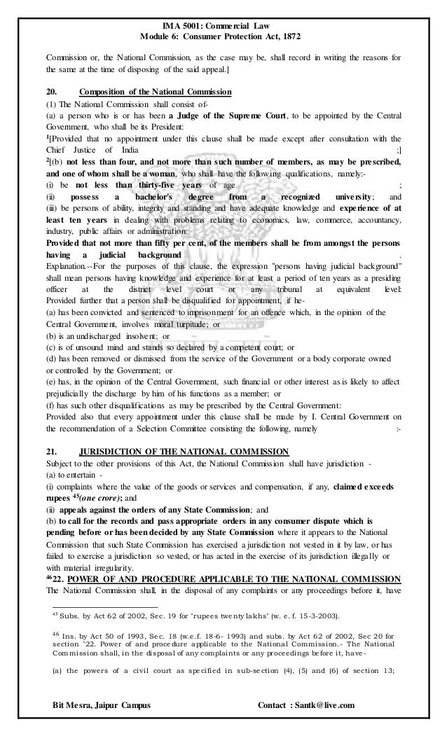 """consumer protection act essay Under the consumer protection act, anyone who purchases a product for a """" commercial purpose"""" is ineligible to seek remedy under the consumer thing that is clear to a reader of this essay is how unclear the realm of goods purchased for """"commercial purpose"""" is with respect to consumer protection."""