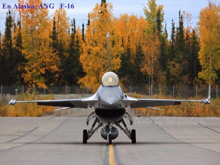 En Alaska, ANG  F-16
