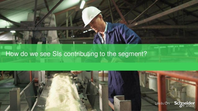 EcoStruxure, IIoT-enabled architecture, delivering value in