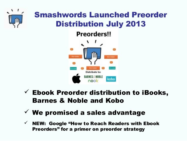 2015 smashwords survey how to sell more ebooks preorder strategy 73 fandeluxe Epub