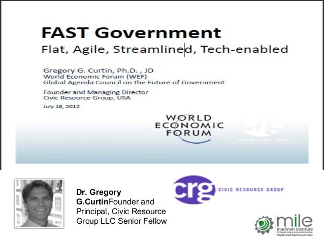 Dr. GregoryG.CurtinFounder andPrincipal, Civic ResourceGroup LLC Senior Fellow