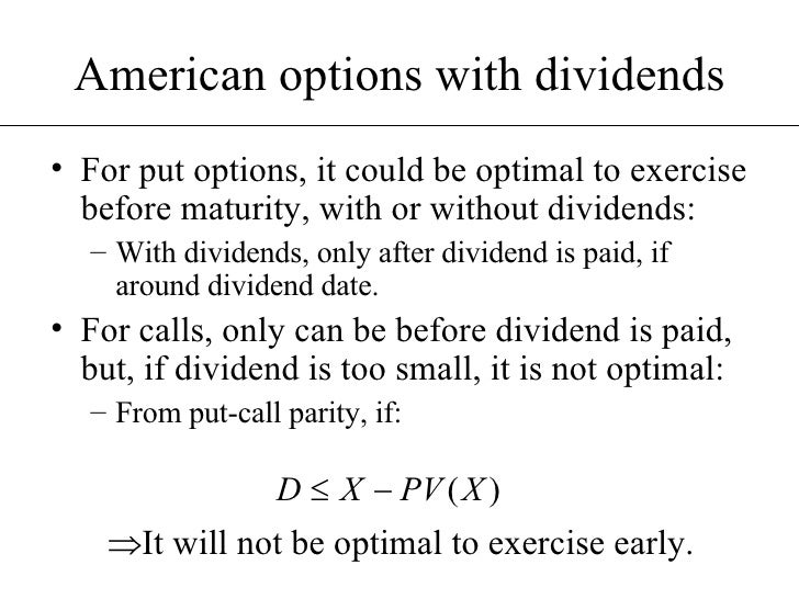 Options dividend strategies