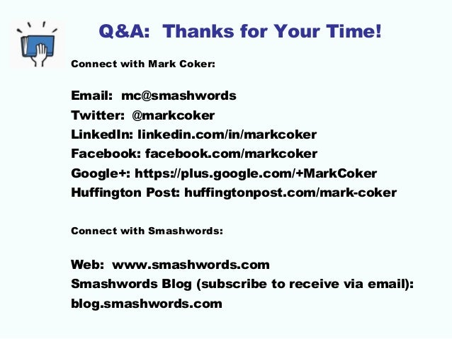 BAIPA: Mark Coker, Smashwords — Strategy for your Book's Preorder Sal…