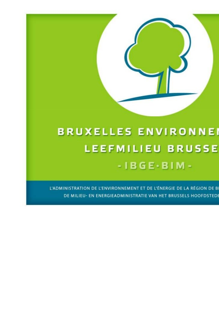 Contexte législatif du« Brussels Waste Network »•    Bruxelles-Environnement / IBGE-BIM•    Département déchet et développ...