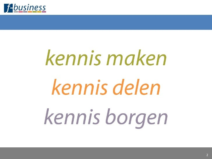 F Business Presentatie 180609 Final Slide 2