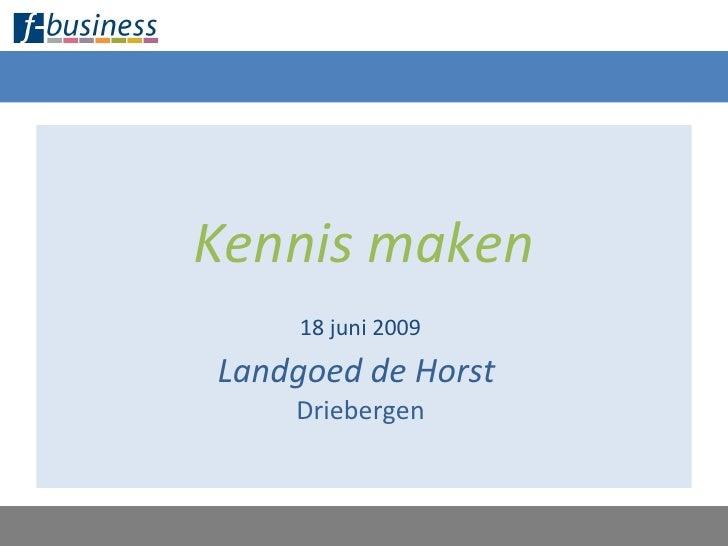 F Business Presentatie 180609 Final Slide 3