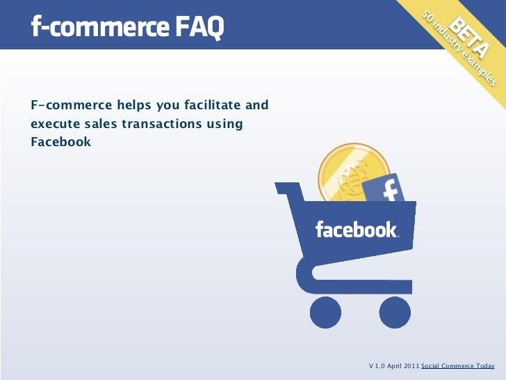 f-commerce FAQ                                                     50                                                     ...