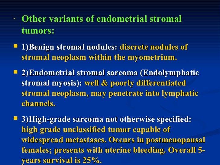 III. SEX CORD-STROMAL TUMORS:   1- Granulosa-Theca cell tumor: secrete      estrogen   2- Sertoli-Leydig cell tumor: sec...