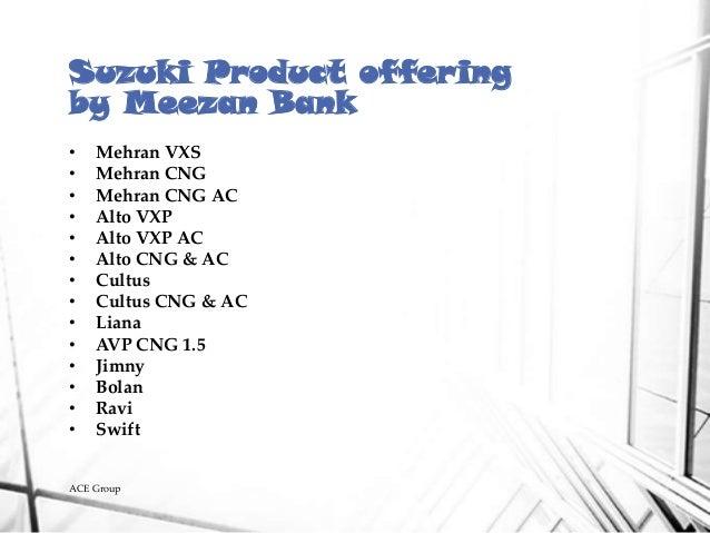 Suzuki Bolan On Lease From Meezan Bank