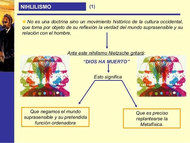 NIHILISMO En el nihilismo de Nietzsche encontramos los tres grandes momentos de este movimiento: Nihilismo como destrucció...