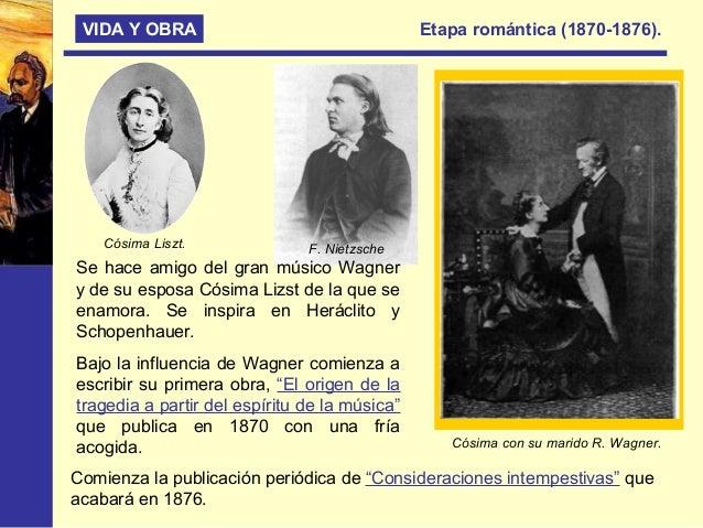 """VIDA Y OBRA Etapa profética o de madurez (1883-1888) Etapa presidida por su gran obra """"Así habló Zaratustra"""", en esta etap..."""