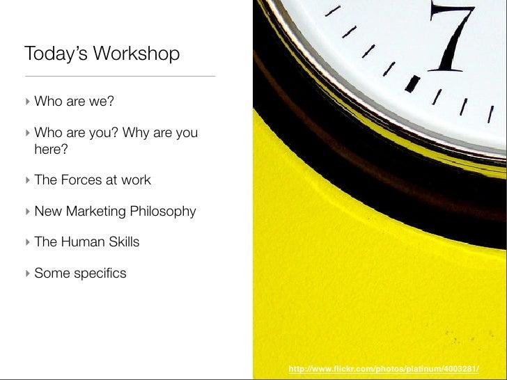 Mindshare Marketing -  FOWA Oct07  Slide 3