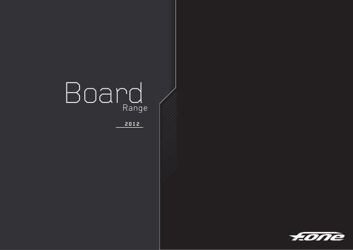 Board   Range   2012
