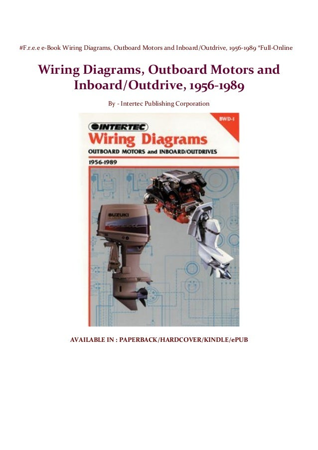 free ebook wiring diagrams outboard motors and inboard