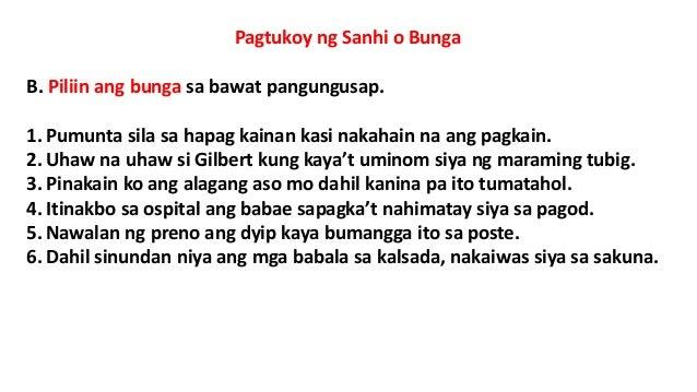 Ano ang Sanhi at Bunga