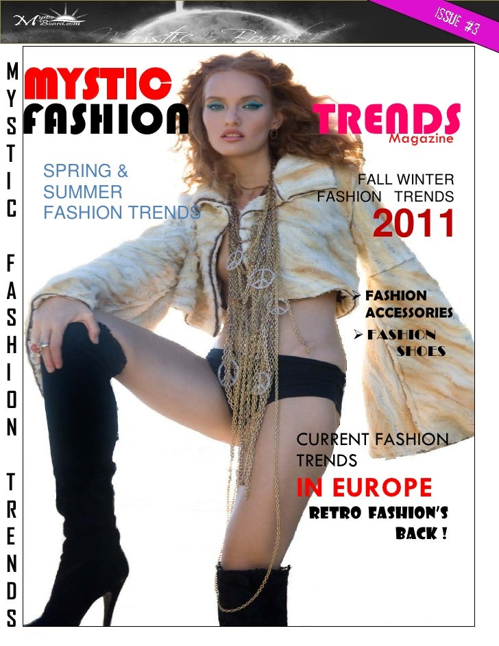 Current Fashion Trends For Women In Europe