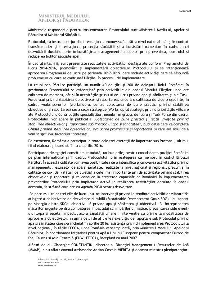 2016-11-16_Participarea_MMAP_reuniunea_Partilor_la_Protocolul_privind_Apa_si_Sanatatea Slide 2