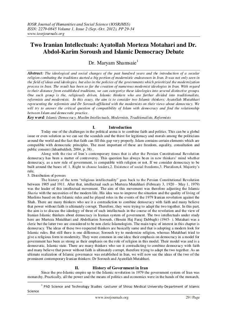 IOSR Journal of Humanities and Social Science (IOSRJHSS)ISSN: 2279-0845 Volume 1, Issue 2 (Sep.-Oct. 2012), PP 29-34www.io...