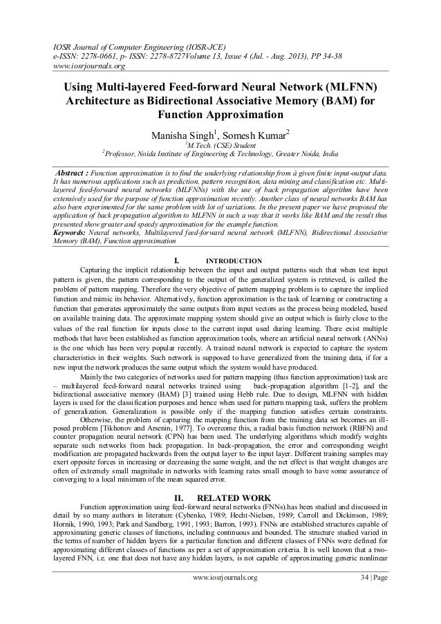 IOSR Journal of Computer Engineering (IOSR-JCE) e-ISSN: 2278-0661, p- ISSN: 2278-8727Volume 13, Issue 4 (Jul. - Aug. 2013)...