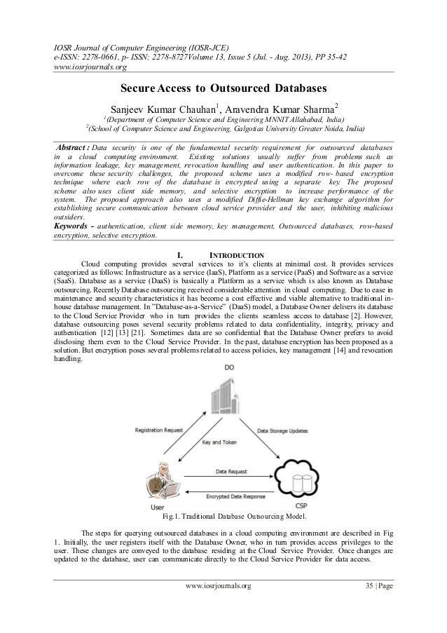 IOSR Journal of Computer Engineering (IOSR-JCE) e-ISSN: 2278-0661, p- ISSN: 2278-8727Volume 13, Issue 5 (Jul. - Aug. 2013)...