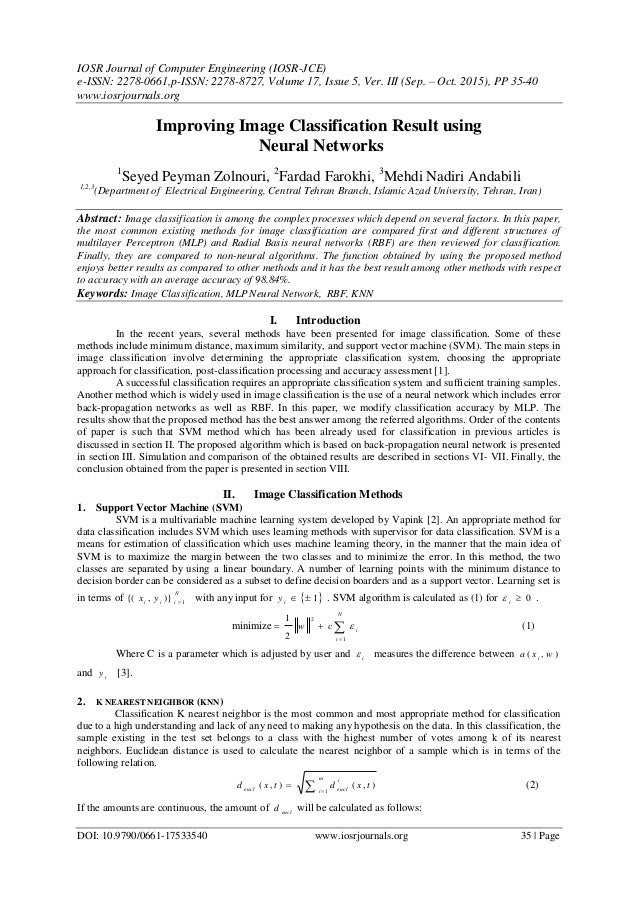 IOSR Journal of Computer Engineering (IOSR-JCE) e-ISSN: 2278-0661,p-ISSN: 2278-8727, Volume 17, Issue 5, Ver. III (Sep. – ...