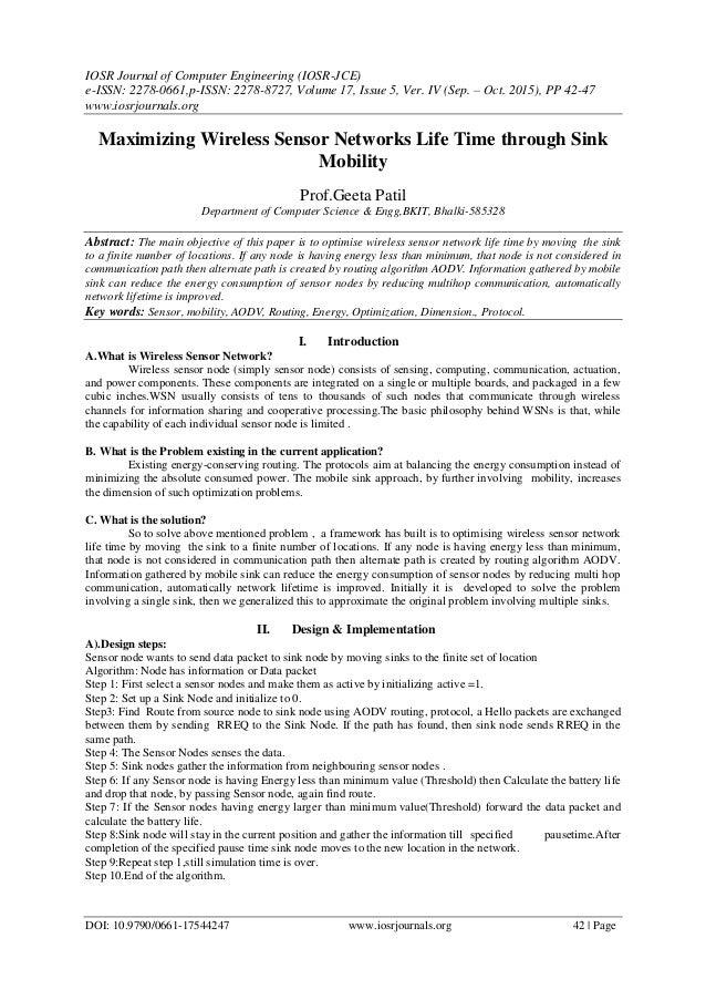 IOSR Journal of Computer Engineering (IOSR-JCE) e-ISSN: 2278-0661,p-ISSN: 2278-8727, Volume 17, Issue 5, Ver. IV (Sep. – O...