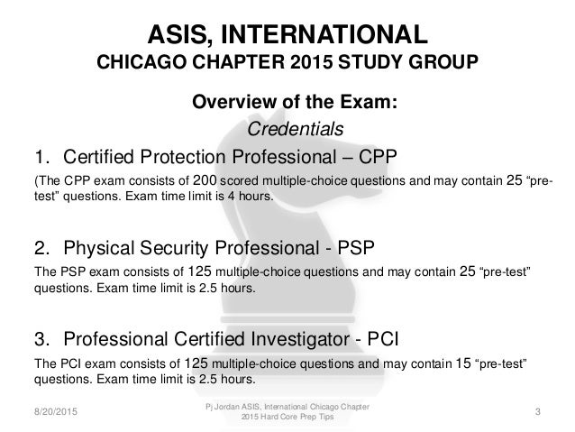 ASIS Introduces Virtual Study Group for PSP Exam