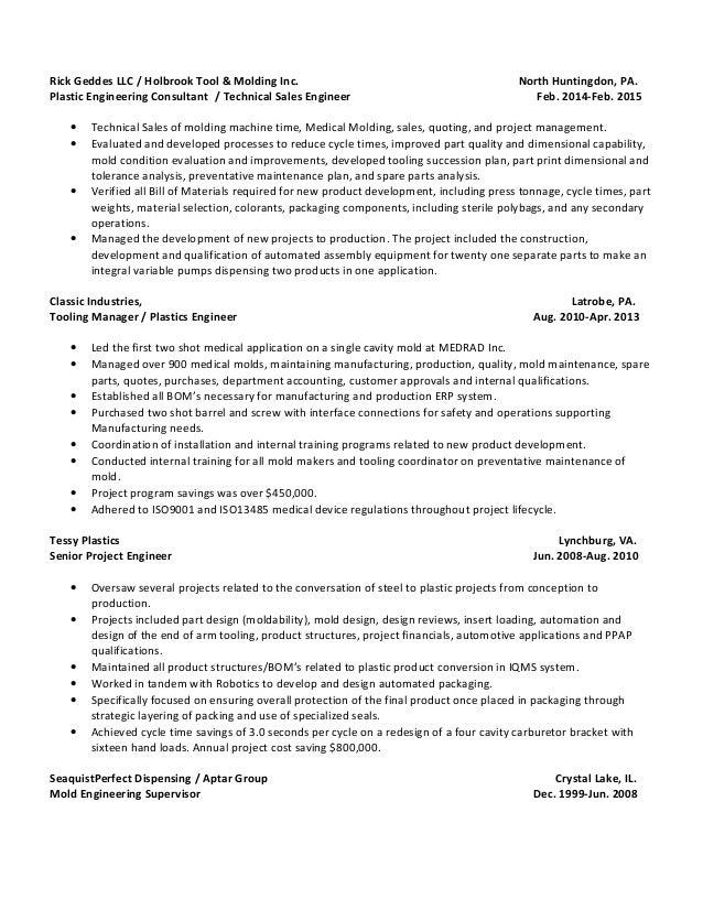 Ricky Dwaine Geddes Resume Updated 06.01.2015