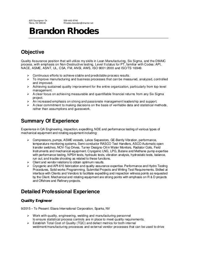 Resume-Brandon Rhodes-May 2015