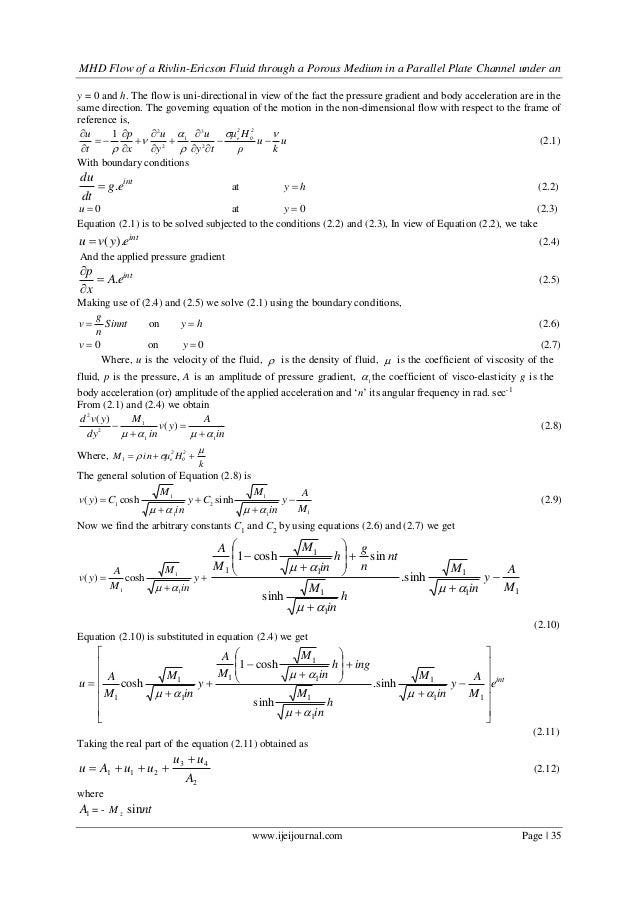 flow through porous media pdf