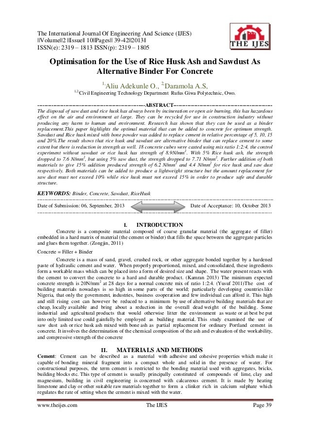 The International Journal Of Engineering And Science (IJES) ||Volume||2 ||Issue|| 10||Pages|| 39-42||2013|| ISSN(e): 2319 ...