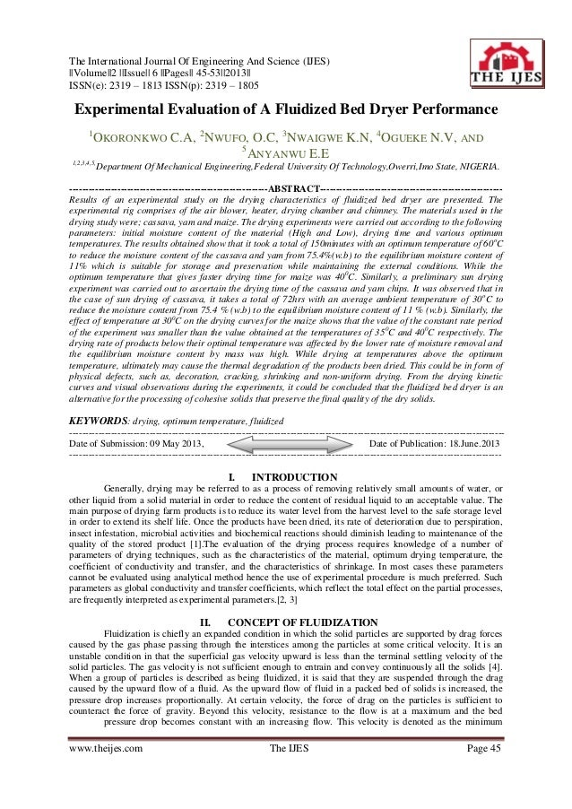 The International Journal Of Engineering And Science (IJES) ||Volume||2 ||Issue|| 6 ||Pages|| 45-53||2013|| ISSN(e): 2319 ...