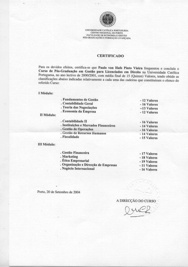 Certificado PGLD