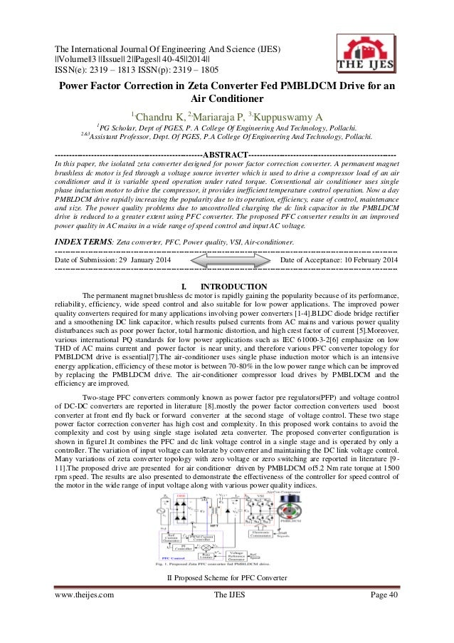 The International Journal Of Engineering And Science (IJES) ||Volume||3 ||Issue|| 2||Pages|| 40-45||2014|| ISSN(e): 2319 –...