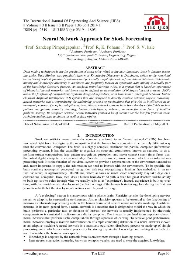 The International Journal Of Engineering And Science (IJES) || Volume || 3 || Issue || 5 || Pages || 30-35 || 2014 || ISSN...