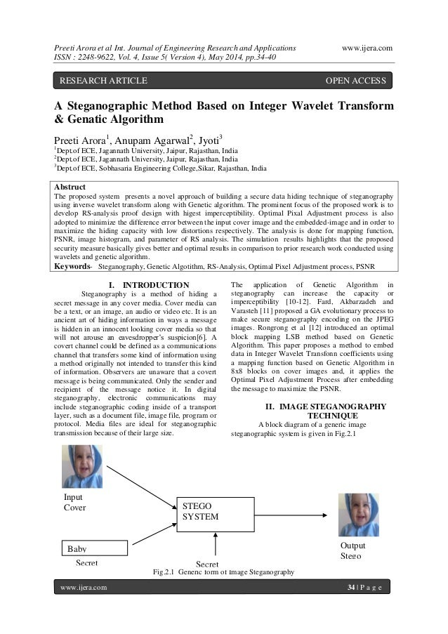 Preeti Arora et al Int. Journal of Engineering Research and Applications www.ijera.com ISSN : 2248-9622, Vol. 4, Issue 5( ...