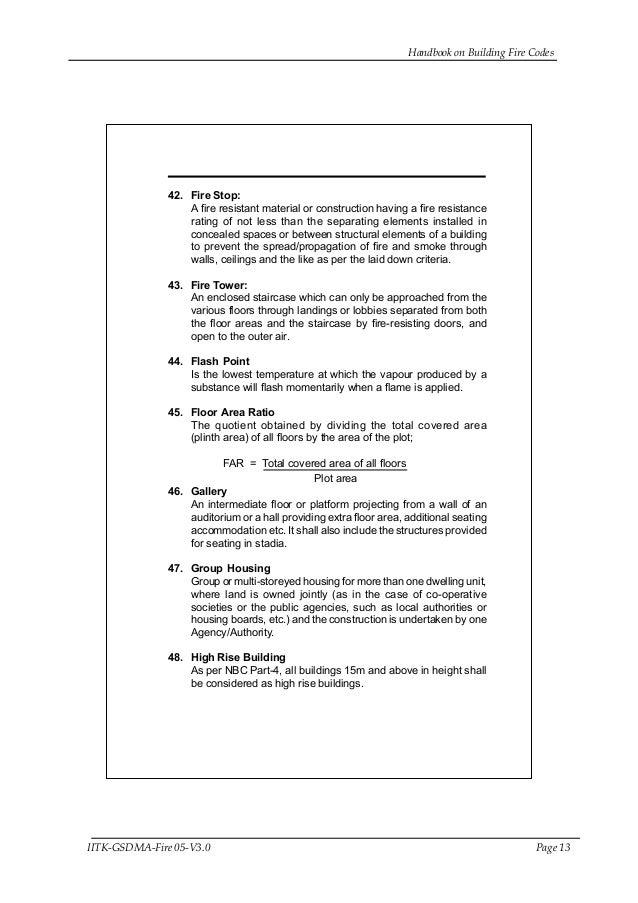 13 Handbook On Building Fire
