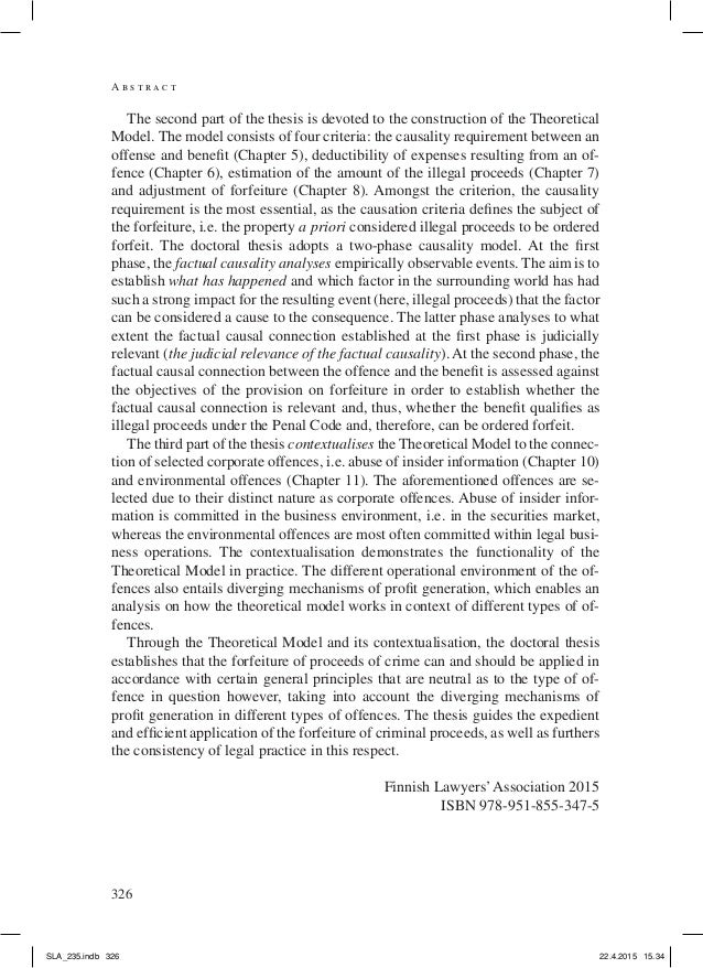 abstract phd thesis The phd thesis abstracts in this collection have been provided by the ethos (e- theses online service) open access initiative at the british library with.