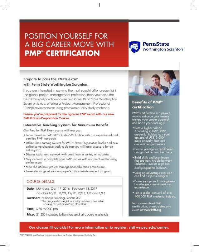 Project Management Test Prep Program