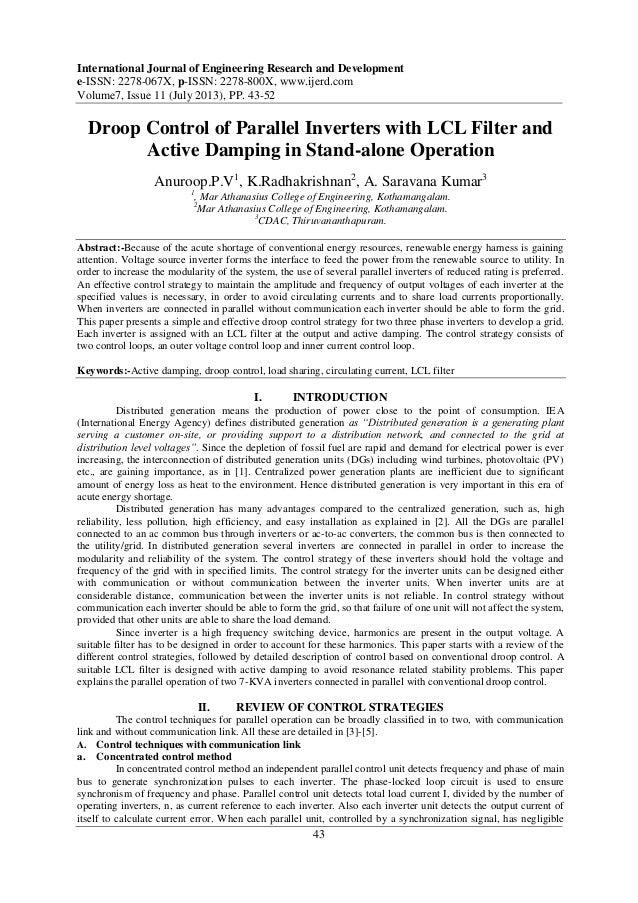 International Journal of Engineering Research and Development e-ISSN: 2278-067X, p-ISSN: 2278-800X, www.ijerd.com Volume7,...