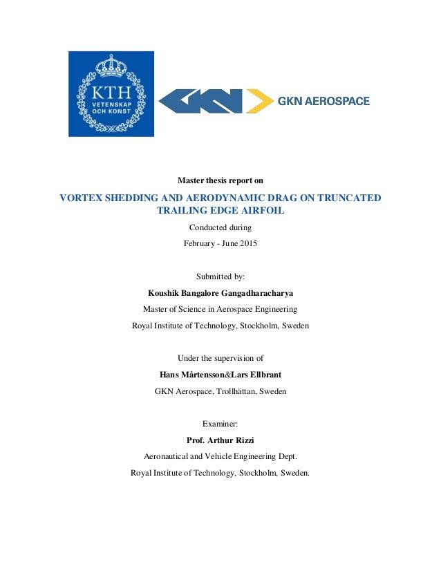 gkn aerospace thesis