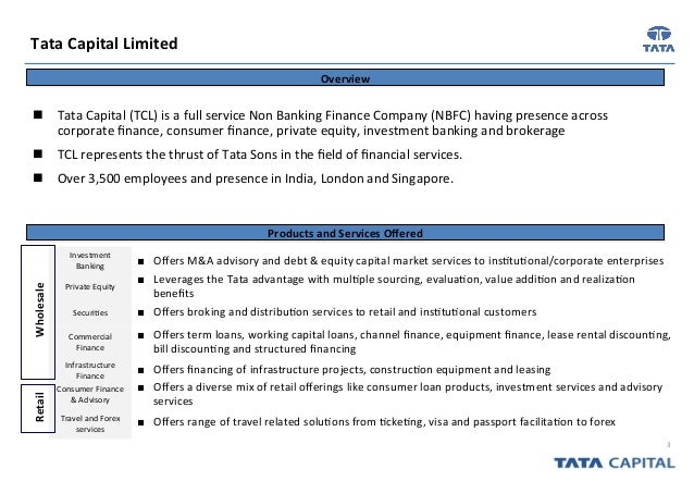 Tata capital forex limited tc travel and services limited