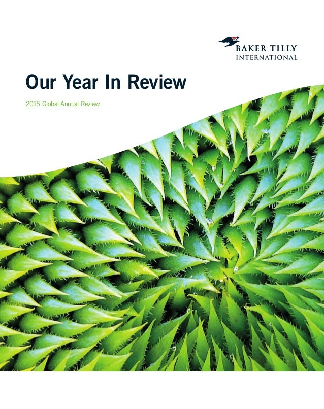 Our Year In Review 2015 Global Annual Review
