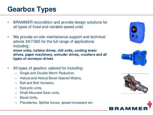 Brammer Gearbox Repair Value Proposition